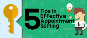 appointment settingtips